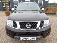 USED 2015 64 NISSAN NAVARA 2.5 dCi Tekna Double Cab Pickup 4dr (EU5) Nav, Pan roof, Rear Cam