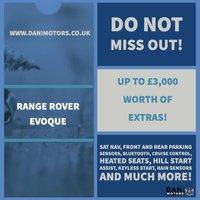 USED 2015 15 LAND ROVER RANGE ROVER EVOQUE 2.2 SD4 Pure Tech AWD 5dr *1 OWNER*SATNAV*REV CAMERA*