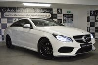 USED 2014 64 MERCEDES-BENZ E-CLASS 2.1 E250 CDI AMG SPORT 2d AUTO 204 BHP ONE FORMER KEEPER with SERVICE HISTORY & 12 MONTHS MOT, STUNNING EXAMPLE with PANORAMIC GLASS SUNROOF