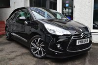 USED 2016 16 DS DS 3 1.6 BLUEHDI DSTYLE NAV S/S 3d 98 BHP STUNNING DS3 IN PERLA BLACK WITH SAT NAV