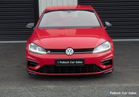 USED 2017 VOLKSWAGEN GOLF R 2.0TSI 3dr 310BHP Factory Extras and Upgrades The ultimate do-it-all car with performance, looks and high quality finish and comfort