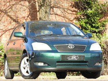 2002 TOYOTA COROLLA 1.4 T SPIRIT VVT-I 5d 92 BHP £1290.00