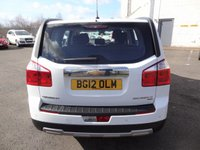 USED 2012 12 CHEVROLET ORLANDO 2.0 LT VCDI 5d 130 BHP 3 Months National Warranty - 1 Years MOT for New Owner