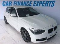2014 BMW 1 SERIES 1.6 116I SPORT 5d 135 BHP £10000.00