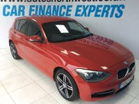 2013 BMW 1 SERIES 2.0 118D SPORT 5d 141 BHP £8500.00