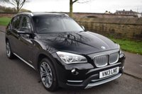 USED 2013 13 BMW X1 2.0 XDRIVE20D XLINE 5d 181 BHP SERVICE HISTORY, SATELLITE NAVIGATION, SPORTS LEATHER, REAR PRIVACY, PARKING AID, BLUETOOTH
