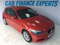 2015 BMW 1 SERIES 1.6 116D EFFICIENTDYNAMICS 5d 114 BHP £8000.00
