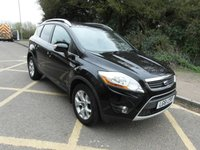 USED 2011 61 FORD KUGA 2.0TDCi 140ps Zetec Diesel 2WD Full service history. 2 owners from new. Low mileage.