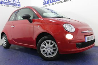 2013 FIAT 500 1.2 POP 3d 69 BHP £4000.00