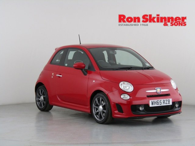 View our 2016 65 ABARTH 500 1.4 595 3d 138 BHP