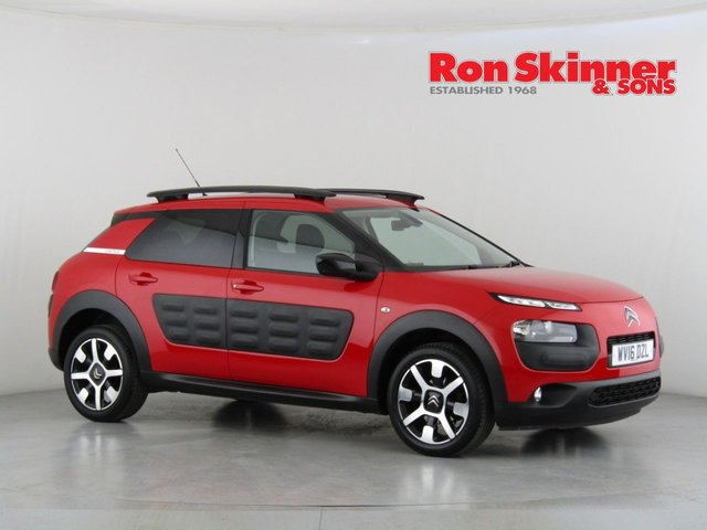 View our 2016 16 CITROEN C4 CACTUS 1.2 PURETECH FLAIR ETG S/S 5d AUTO 80 BHP
