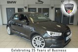 USED 2015 15 AUDI A1 1.4 SPORTBACK TFSI S LINE 5d 148 BHP FINISHED IN STUNNING PHANTOM BLACK WITH  HALF LEATHER SEATS + XENON HEADLIGHTS + BLUETOOTH + 17 INCH ALLOYS + LED DAYTIME LIGHTS + £30 ROAD TAX + DAB RADIO + CRUISE CONTROL
