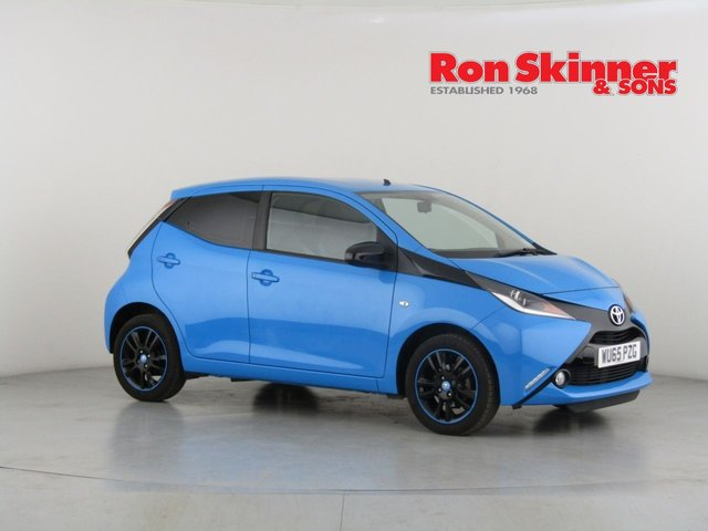 View our 2015 65 TOYOTA AYGO 1.0 VVT-I X-CITE 2 5d 69 BHP