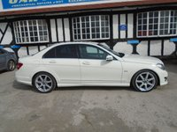 2011 MERCEDES-BENZ C CLASS 2.1 C220 CDI BLUEEFFICIENCY SPORT ED125 4d AUTO 170 BHP £9471.00