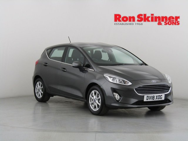 View our 2018 18 FORD FIESTA 1.1 ZETEC 5d 85 BHP with SYNC3 Nav