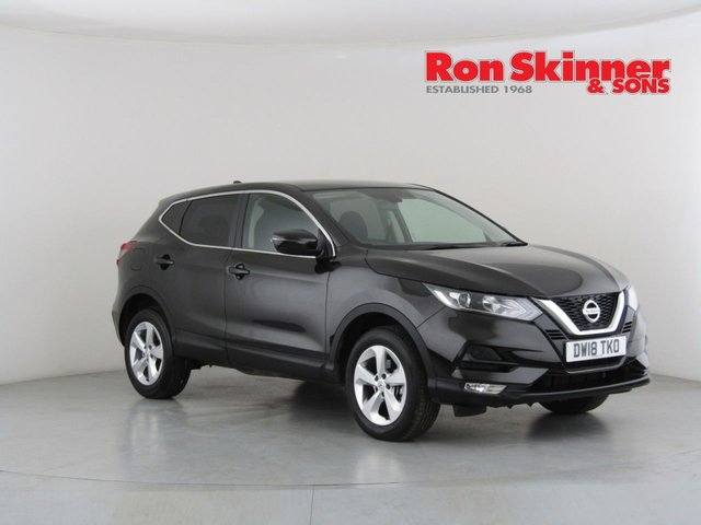 View our 2018 18 NISSAN QASHQAI 1.2 ACENTA DIG-T 5d 113 BHP with Tech Pack