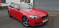 2013 BMW 1 SERIES 1.6 116I SPORT 5d AUTO 135 BHP £8995.00