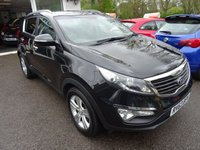 USED 2013 63 KIA SPORTAGE 1.7 CRDI 2 5d 114 BHP Comprehensive Service History + Serviced by ourselves, One Owner from new, Minimum 6 months MOT, Diesel, Great fuel economy!