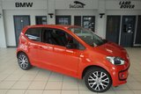 USED 2014 14 VOLKSWAGEN UP 1.0 GROOVE UP 3d 74 BHP full vw service history FINISHED IN STUNNING SUN SET ORANGE METALLIC WITH ANTHRACITE CLOTH SEATS + FULL VW SERVICE HISTORY + HEATED FRONT SEATS + AIR CONDITIONING + 16 INCH ALLOYS + £20 ROAD TAX + LOW INSURANCE GROUP