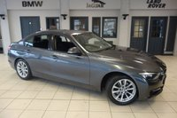 USED 2012 12 BMW 3 SERIES 2.0 320D SPORT 4d AUTO 184 BHP FINISHED IN STUNNING MINERAL GREY WITH ANTHRACITE CLOTH SEATS + FULL BMW SERVICE HISTORY + BLUETOOTH + £30 ROAD TAX + REAR PARKING SENSORS + AUTOMATIC AIR CONDITIONING + CRUISE CONTROL