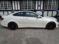 2013 MERCEDES-BENZ C-CLASS 2.1 C220 CDI BLUEEFFICIENCY AMG SPORT PLUS 2d AUTO 168 BHP £11978.00