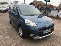 USED 2014 14 PEUGEOT PARTNER 1.6 HDI TEPEE OUTDOOR 5d 112 BHP 1 FORMER KEEPER-BLUETOOTH-DIESEL-ALLOY WHEELS-PARKING SENSORS-SERVICE HISTORY