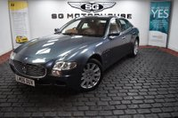 USED 2006 06 MASERATI QUATTROPORTE 4.2 Seq 4dr MEGA Spec, Recent New Clutch