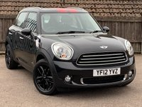 2012 MINI COUNTRYMAN 2.0 COOPER D ALL4 5d AUTO 110 BHP £8995.00