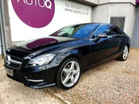 USED 2013 13 MERCEDES-BENZ CLS CLASS 2.1 CLS250 CDI BLUEEFFICIENCY AMG SPORT 4d AUTO 204 BHP FULL MERCEDES SERVICE HISTORY