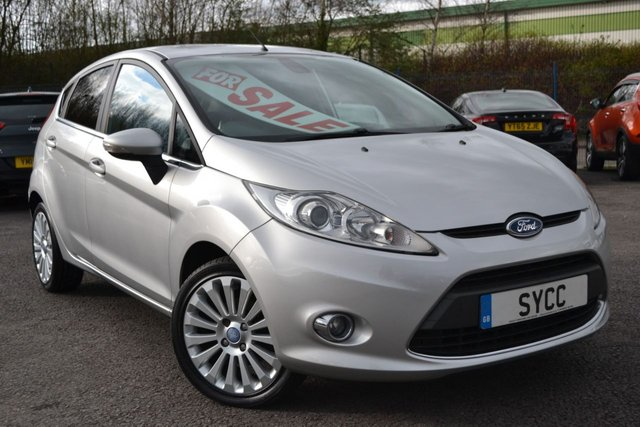 USED 2008 58 FORD FIESTA 1.4 TITANIUM 5d 96 BHP FULL SERVICE RECORDS 10 STAMPS ~ 2 KEYS ~ 6 MONTHS WARRANTY & BREAKDOWN COVER