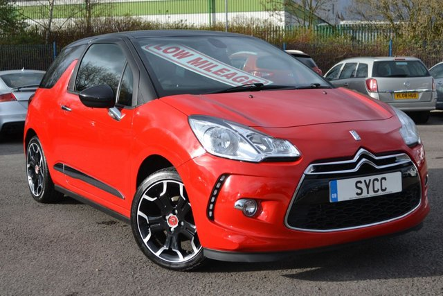 USED 2012 62 CITROEN DS3 1.6 DSTYLE PLUS 3d 120 BHP 6 MONTHS WARRANTY ~ 6 MONTHS BREAKDOWN COVER ~ UPGRADE ALLOYS ~ 2 KEYS
