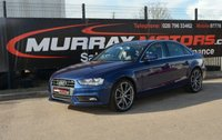 USED 2014 AUDI A4 2.0 TDI SE TECHNIK 4DOOR 134 BHP