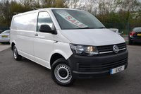 USED 2016 66 VOLKSWAGEN TRANSPORTER 2.0 T30 TDI P/V STARTLINE BMT 5d 101 BHP LWB 1 OWNER ~ 2 KEYS ~ ROOF BARS ~ CHOICE OF 3 2016 66 T6'S IN STOCK
