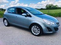 2013 VAUXHALL CORSA 1.4 SE 5d 98 BHP £4995.00