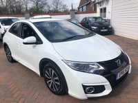 USED 2016 16 HONDA CIVIC 1.6 I-DTEC SE PLUS NAVI 5d 118 BHP