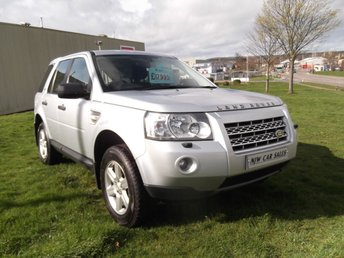2010 LAND ROVER FREELANDER 2.2 TD4 E GS 5d 159 BHP £7995.00