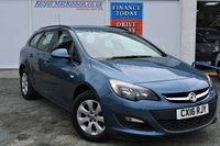 USED 2016 16 VAUXHALL ASTRA 1.6 DESIGN 5d Family Estate with Rare AUTO and Full Service History only One Previous Owner and Ready to Drive Away Today RARE AUTOMATIC