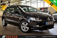 USED 2016 66 VOLKSWAGEN POLO 1.2 MATCH EDITION TSI 5d 89 BHP + 1 OWNER  + SERVICE HISTORY + 15 MONTHS WARRANTY + 12 MONTHS MOT +
