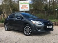 USED 2013 63 CITROEN DS4 1.6 E-HDI AIRDREAM DSIGN 5d 115 BHP Half Leather, Cruise, FSH