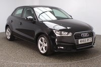 USED 2016 16 AUDI A1 1.0 SPORTBACK TFSI SPORT 5DR 93 BHP FREE ROAD TAX 1 OWNER SERVICE HISTORY + FREE 12 MONTHS ROAD TAX + BLUETOOTH + CRUISE CONTROL + MULTI FUNCTION WHEEL + DAB RADIO + ELECTRIC WINDOWS + ALLOY WHEELS
