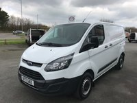 2017 FORD TRANSIT CUSTOM 290 2.0 TDCi 105 6-Speed L1 H1 SWB £11995.00