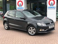USED 2016 16 VOLKSWAGEN POLO 1.2 MATCH TSI DSG 5d AUTO 89 BHP 1 OWNER | BLUETOOTH | DAB |