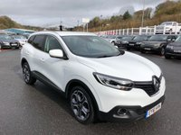 USED 2016 16 RENAULT KADJAR 1.2 DYNAMIQUE S NAV TCE 5d 130 BHP Black leather, Sat Nav, Media, Phone, 19 inch Alloys ++