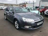 USED 2009 09 CITROEN C5 2.0 VTR PLUS HDI 5d 138 BHP FULL SERVICE HISTORY 10 STAMPS-ESTATE-DIESEL-ALLOY WHEELS-A/C