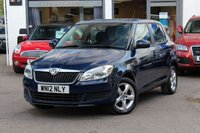 USED 2012 12 SKODA FABIA 1.2 SE 12V 69PS 5 DOOR PETROL HATCHBACK FULL SERVICE HISTORY * AIRCON * IPOD CONNECTION *