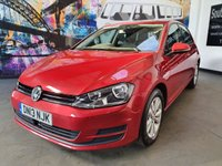 USED 2013 13 VOLKSWAGEN GOLF 1.4 SE TSI BLUEMOTION TECHNOLOGY DSG 5d AUTO 120 BHP