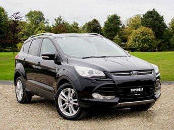 2013 FORD KUGA 2.0 TITANIUM X TDCI 5d AUTO 160 BHP £11780.00