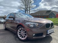 USED 2012 62 BMW 1 SERIES 1.6 116D EFFICIENTDYNAMICS 5d 114 BHP ALLOYS+AIRCON+CLIMATE+PARK+