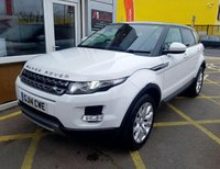 USED 2014 14 LAND ROVER RANGE ROVER EVOQUE 2.2 SD4 PURE 5d 190 BHP