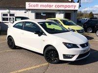 2014 SEAT IBIZA 1.2 TSI FR 3 door £6499.00